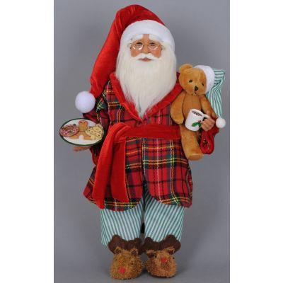 Milk & Cookies Santa