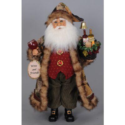 Basket of Cheer Santa