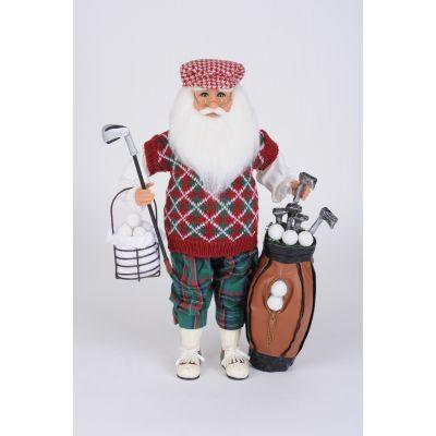 Golf Santa with Basket