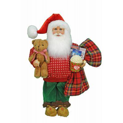 Movie Night Santa