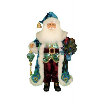 Peacock Santa