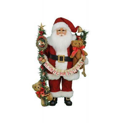Lighted Musical Christmas Santa