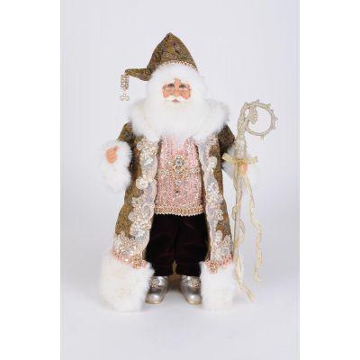 Jeweled Victorian Santa