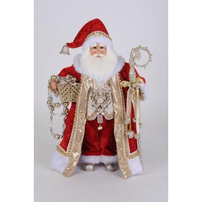 Christmas Jeweled Santa