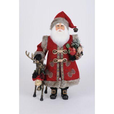 Reindeer Joy Santa