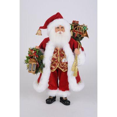 Lighted Classic Christmas Santa