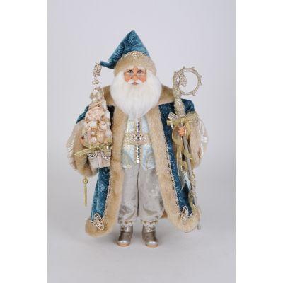 Ocean Blue Santa
