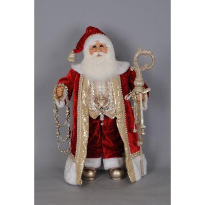 Red and Gold Santa