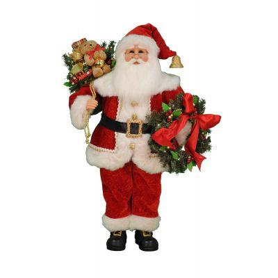 Lt. Wreath & Gifts Santa