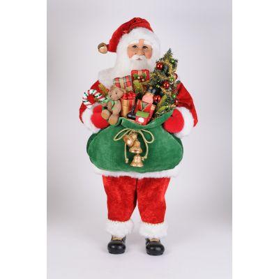 Lighted Bearing Gifts Santa