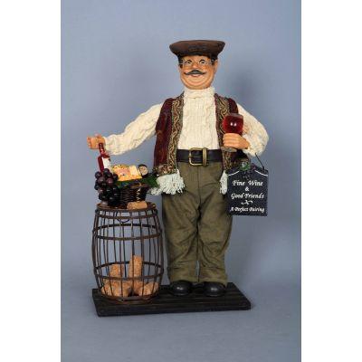 Wine Barrel Cork Collector