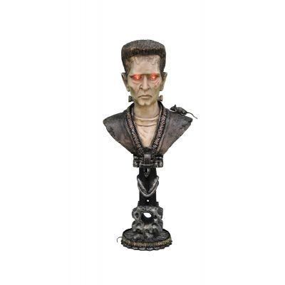 Lighted Frankenstein Pedestal