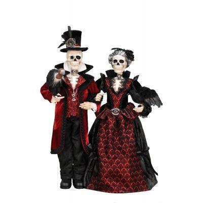 Edward & Angelica Skeletons