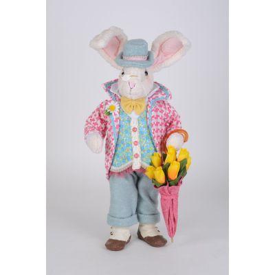 Floral Umbrella Bunny
